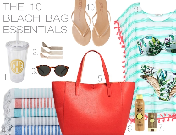 The 10 Beach Bag Essentials