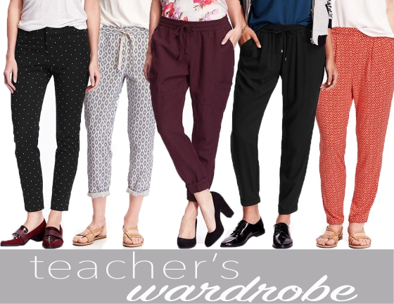Teacher's Wardrobe-Old Navy pants
